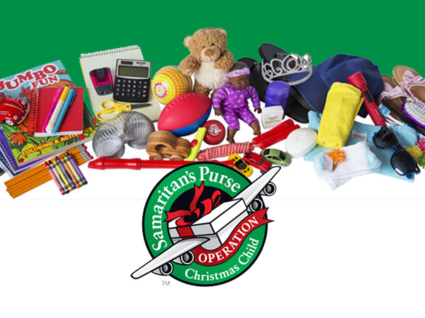 Christmas Operation Child.Support Operation Christmas Child At The Nov 11 Football
