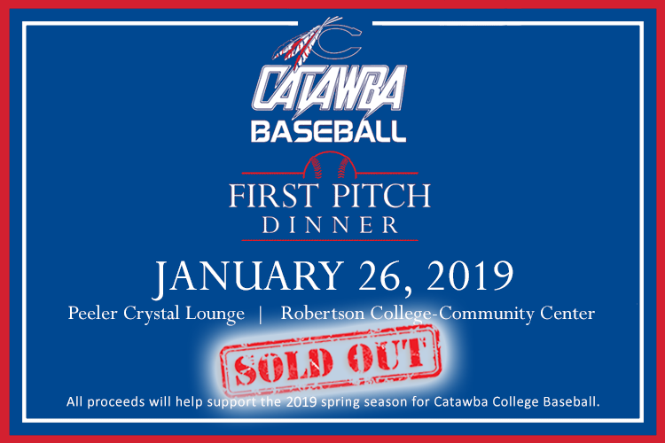 Catawba Baseball First Pitch Dinner